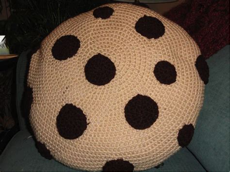 Chocolate Chip Cookie Pillow by Not Your Normal Chocolate Chip Cookie Creative Ideas For A Classic