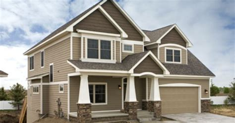 exterior exterior colors brown trim and new construction