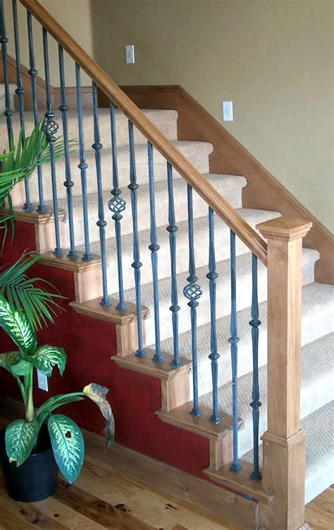 wood banister railing how your stair handrail determines the look of your staircase