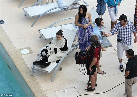 Sunrise Money Giveaway - sunrise mascot cash cow revealed as a brunette woman during cancun trip daily mail