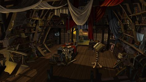 fantasy art books artwork chest interior designs wallpaper