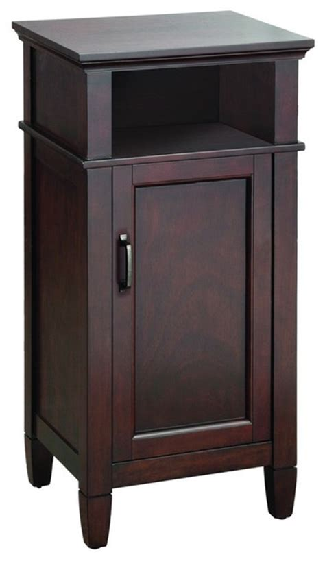 foremost asgf1735 ashburn floor cabinet in mahogany
