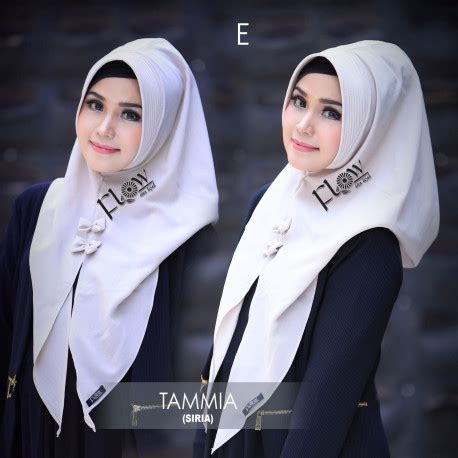 Jilbab Tammia Ranti Ori Flow jilbab kerudung terbaru flow pusat grosir baju muslim