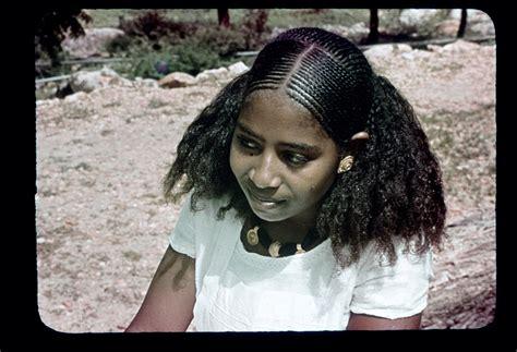 ethiopian hair girls suruba young eritrean woman with braided hair gold ornaments