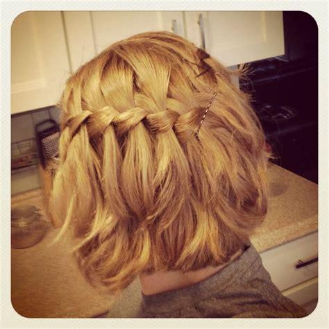 pin  alyssa   hair braids  short hair medium