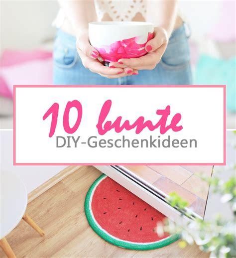 Diy Geschenke Muttertag by Diy 10 Bunte Geschenkideen F 252 R Muttertag Bonny Und Kleid
