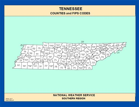 county map of tennessee maps tennessee counties and fips codes