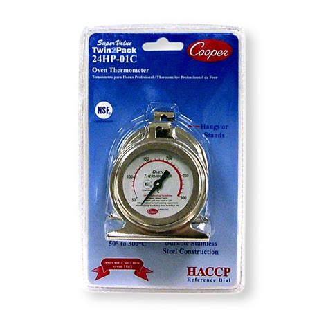 Termometer Oven Analog 300 Derajat Celcius value twin2pack oven thermometers celcius cooper atkins