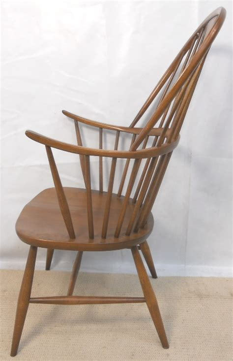 ercol windsor armchair ercol elm windsor style stickback kitchen armchair