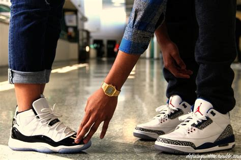 couples nike shoes c couple in jordan be like from tumblr swag couples