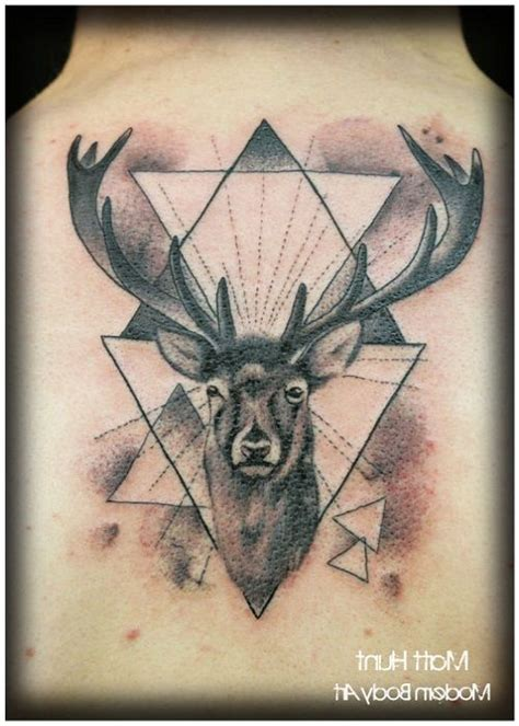 cool deer tattoos 12 best unique deer tattoos images on deer