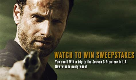 Who Won The Walking Dead Sweepstakes - blogs the walking dead and the walking dead watch to win sweepstakes winners are