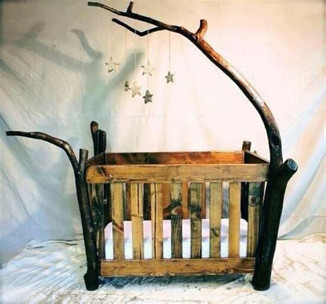 Rustic Wood Baby Crib Wooden Rustic Baby Crib Baby Owen