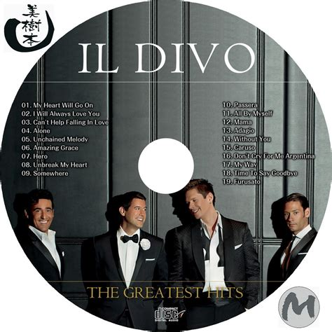 il divo greatest hits cd il divo the greatest hits 自己れ べる