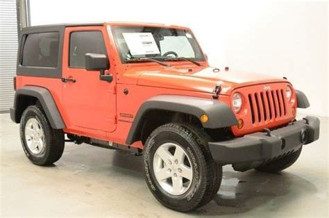 Jeep Wrangler Power Top Find New New Jeep Wrangler Sport Rock Lobster Automatic