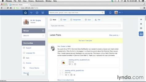 edmodo library tutorial getting started with edmodo