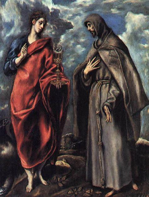 san juan apostol jpg file san juan evangelista y san francisco el greco jpg