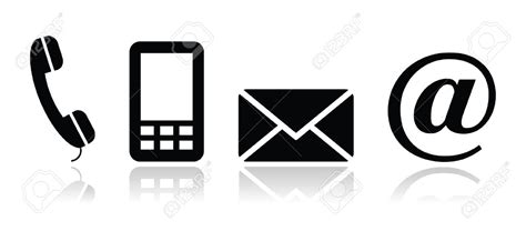 mail mobile mobile phone and email icons free icons