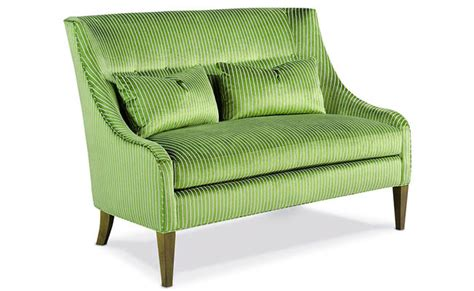 green settee furniture a solid or patterned investment