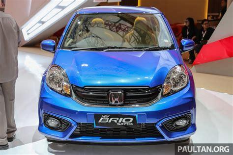 honda brio indonesia honda launched brio facelift in indonesia