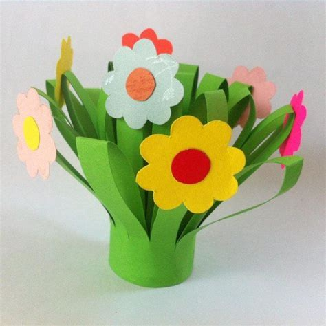 crafts to make with construction paper 17 best ideas about paper flowers craft on