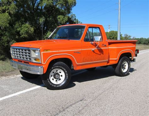 1981 ford f100 ranger automatic transmission ford truck enthusiasts forums 1981 f150 flareside 4x4 factory special order paint all original for sale photos technical