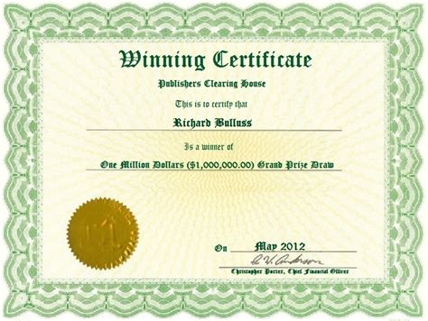 Publishers Clearing House 101 Winners Circle Jericho Ny - ripoff report daniel e frye complaint review internet