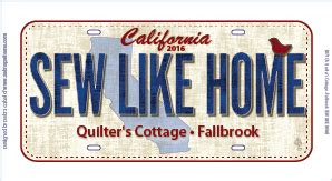 Quilters Cottage Fallbrook by Row By Row 2016