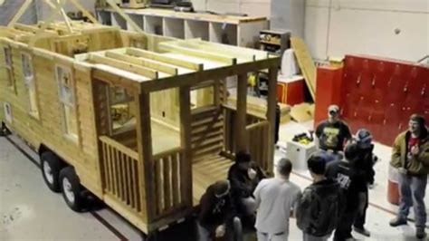 tiny house contractors tiny house construction full of big lessons youtube