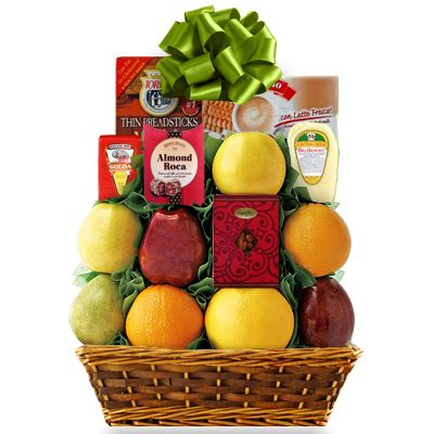 Fruit Baskets Are Just What The Doctor Ordered For