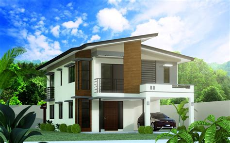 model 5 4 bedroom 2 story house design negros