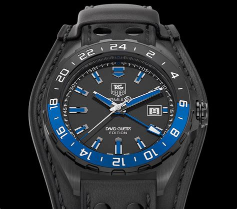 tag heuer formula 1 gmt david guetta edition the home of