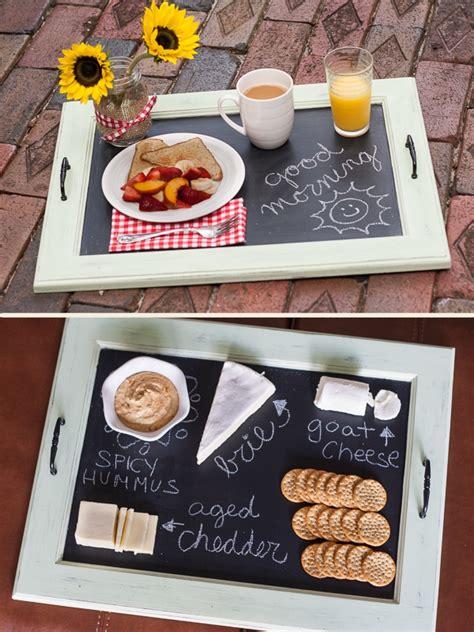 diy chalkboard serving tray chalkboard serving tray tutorial so you think you re crafty