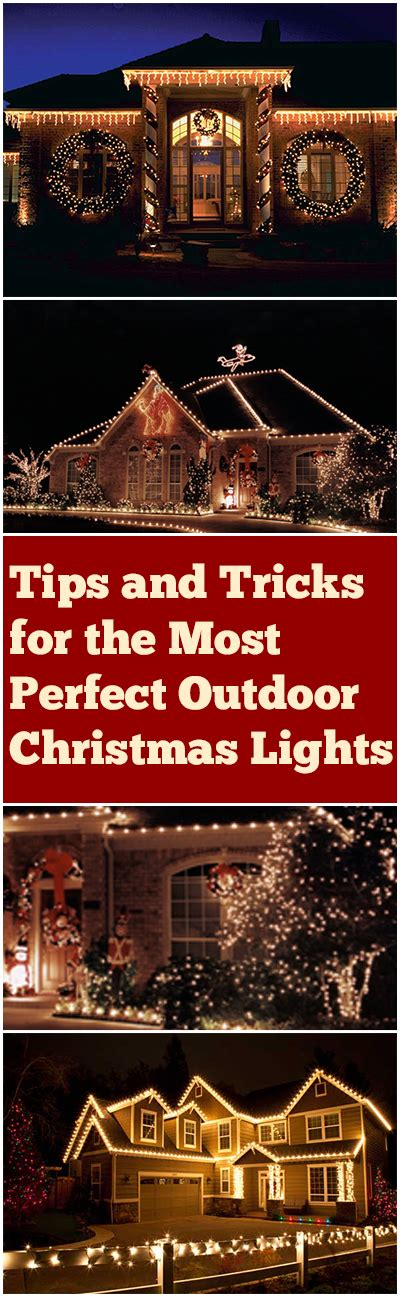 tips tricks and design ideas for outdoor christmas lights