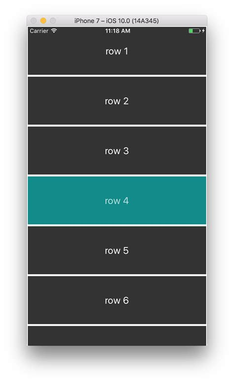 listview tutorial react native react native listview highlight row when selected stack