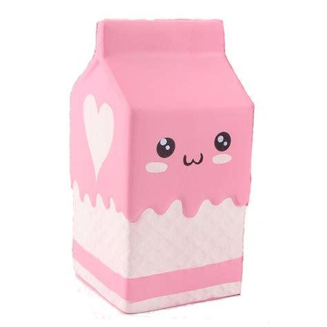 Squisy Squishy Jagung Risingu squishy pink milk box bottle 12cm rising collection gift decor soft sale banggood