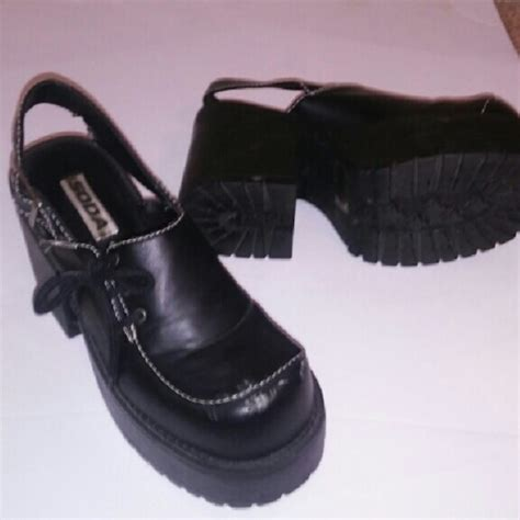 72 soda shoes 80s style chunky platform shoes from