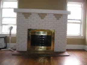 1914 foursquare brick fireplace restoration