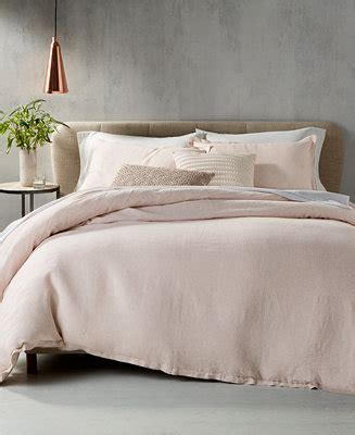 piubelle bedding hotel collection rosequartz linen bedding collection