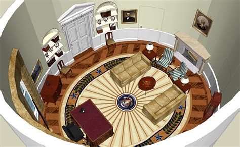Oval Office Layout | oval office history white house museum