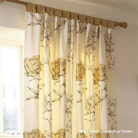 tab tie curtains tab top curtain heading from anagram interiors
