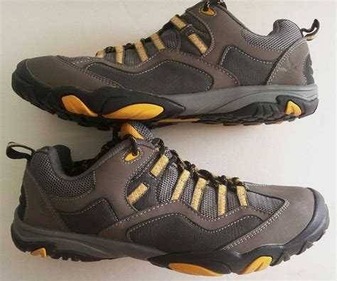 eddie bauer hiking shoes eddie bauer gray orange blaine hiking trail sneaker shoes