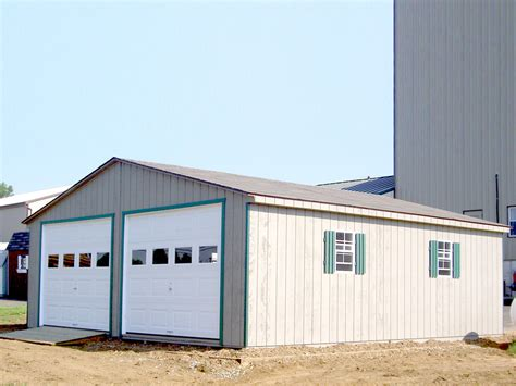 24x24 aframe garage livingston farm outdoor structures