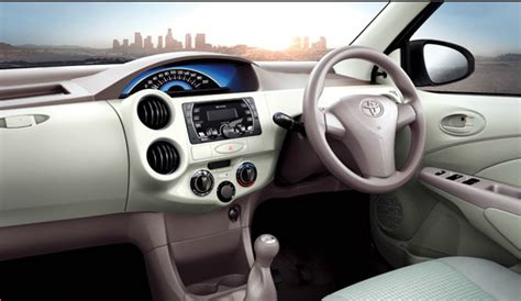 Liva Interior by Toyota Liva Launched In India With Cosmetic Updates