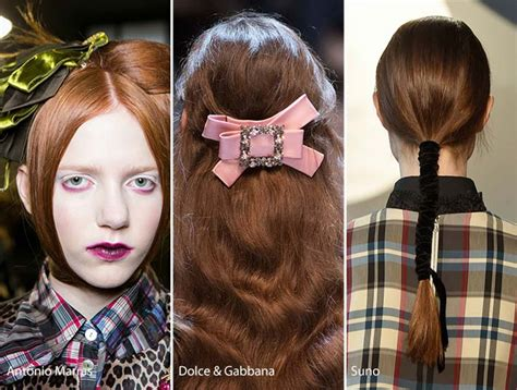 2016 fall winter 2017 hair fall winter 2016 2017 hair accessory trends fashionisers