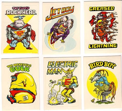 Zero Heroes Free Stiker zero heroes 8a zero heroes sticker trading cards from