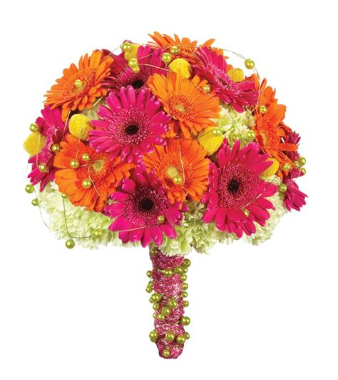 Wedding Bouquets Using Gerberas by Gerber Bridal Bouquet And Table Centerpiece For