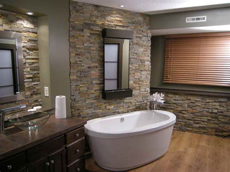 stone floor bathroom planning ideas stacked stone tile installation ideas