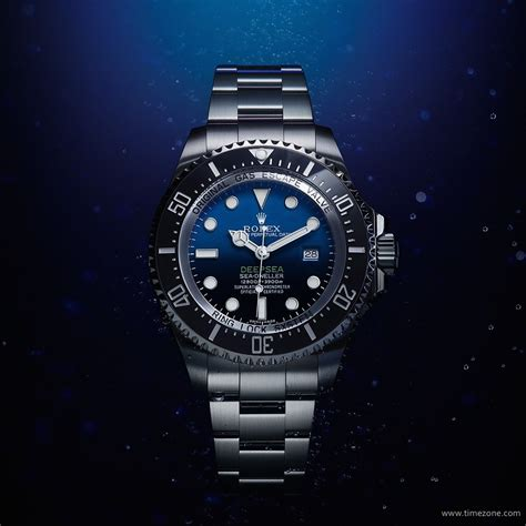 TimeZone : Rolex   Modern » Introducing the Rolex Deepsea D Blue Dial, Ref. 116660
