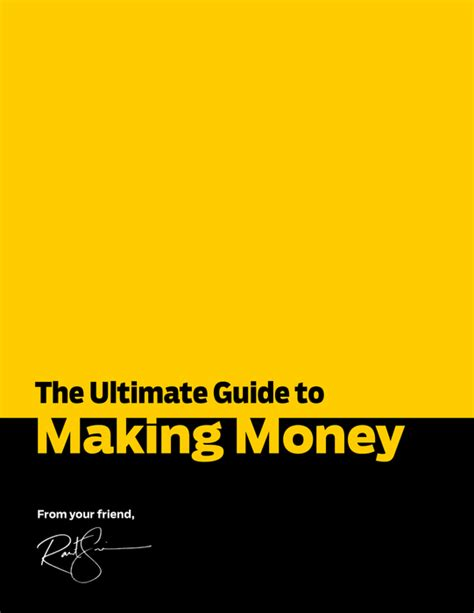Online Money Making Guide - how to make money the ultimate guide